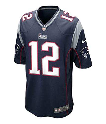 Tom Brady New England Patriots Nike Youth Navy Game Jersey (Youth Large 14-16)