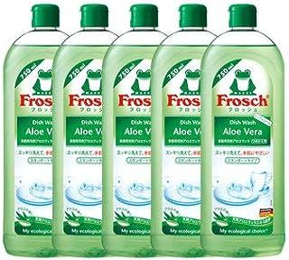 《セット販売》 旭化成 フロッシュ Frosch 食器用洗剤 アロエヴェラ つめかえ用 (750mL)×5個セット 詰め替え用
