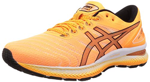 ASICS Herren Gel-Nimbus 22 Laufschuh, Multicolor(ORANGE POP/BLACK)42.5 EU