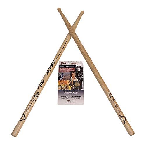 Jay Weinberg Slipknot Drummer Signed Autographed Vater Drumstick Set JSA Certified Authentic