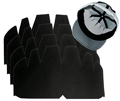 4Pk Blk Baseball Caps Crown Inserts| Fitted Hat Liner| Snapback Shaper