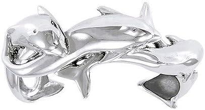 Verstelbare armband met vier dolfijnen