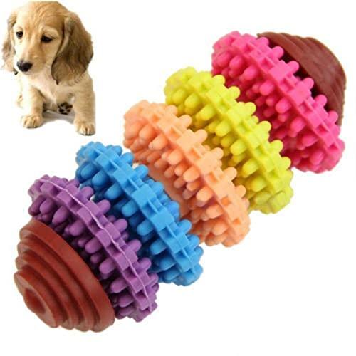 para De Perros Juguetes Nuevo Colorido Lindo Caucho Mascota Perro Cachorro Dentición Dental Dientes Sanos Goma De Mascar Juguete Adecuado para Perros Pequeños Juguetes Resistente