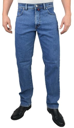 Pierre Cardin Herren DIJON Loose Fit Jeans, Blau (Natural Indigo 01), 34W / 36L