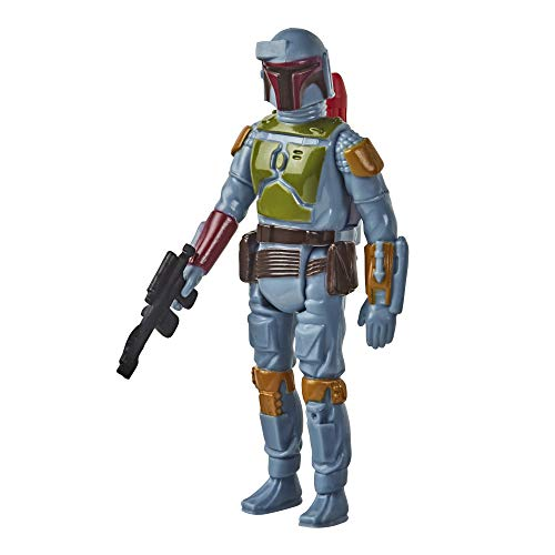 Star Wars Retro Collection Boba Fett Toy 3.75-inch Scale The Empire Strikes Back Action Figure, Toys for Kids Ages 4 and Up