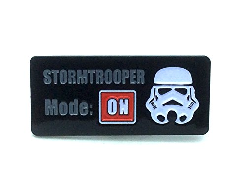 Stormtrooper Mode On Star Wars Cosplay Metal Pin Badge