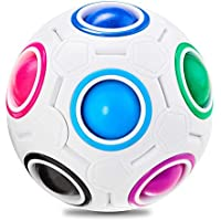 Vdealen Magic Rainbow Puzzle Ball Toy