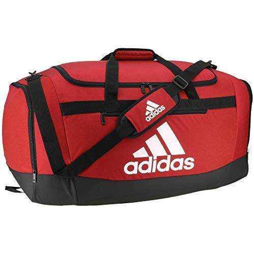 adidas Defender 4 Team Power - Bolsa de Viaje (tamaño Grande), Color Rojo