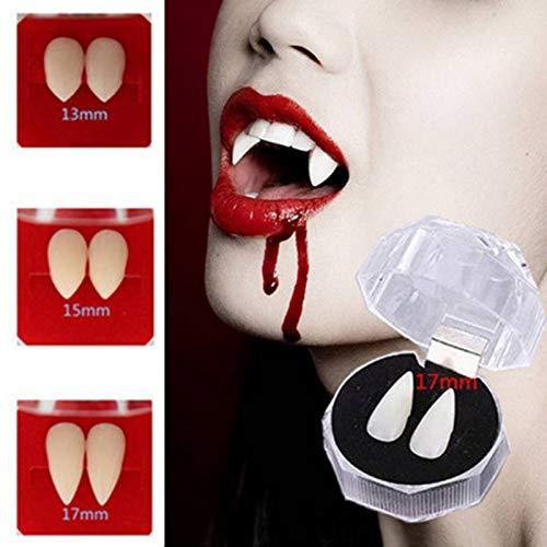 Accesorios Del Partido cosplay zombi dentaduras dientes del vampiro diablo colmillos diente falso traje del partido Festival