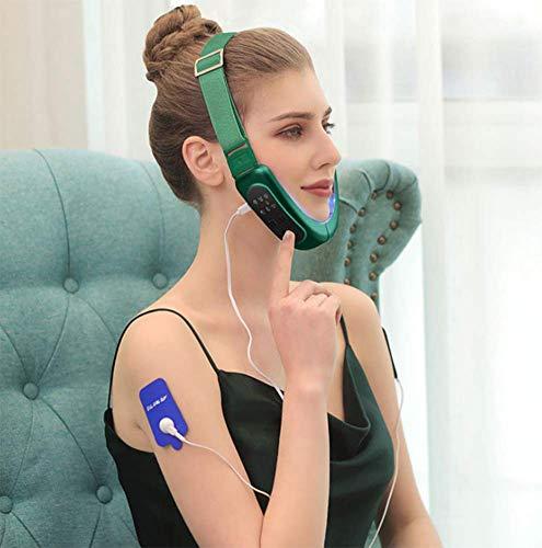 Correa de adelgazamiento facial, reductor de barbilla doble, cinturón de elevación de cara en V para mejorar la flacidez de la piel, antiarrugas y reafirmante la piel.