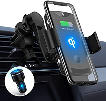 Pleson Max 15W Wireless Car Charger Mount