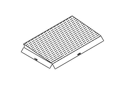 Preisvergleich Produktbild Auffahrrampe AF 20 / 123 verzinkt