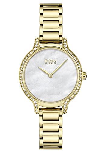 Hugo BOSS Reloj Cosa análoga para De Las Mujeres de Cuarzo con Correa en Acero Inoxidable 1502557