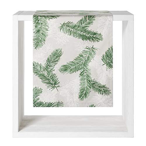 Proflax Tischdecke Pinus l 85x85cm l Weihnachten l Tannenzweig