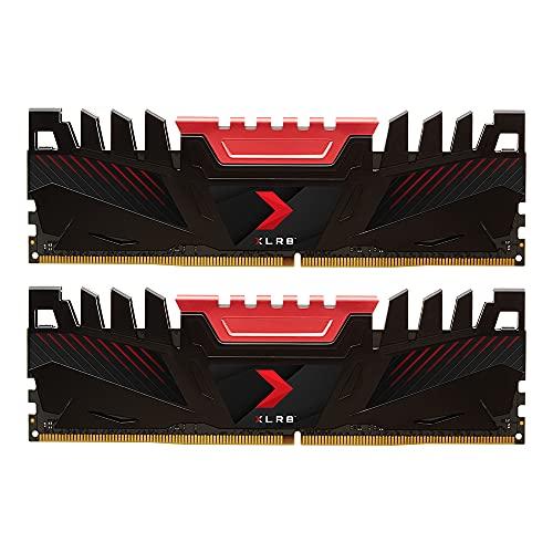 PNY 16GB (2x8GB) XLR8 Gaming DDR4 3000MHz Desktop Memory RAM Kit – (MD16GK2D4300016XR)