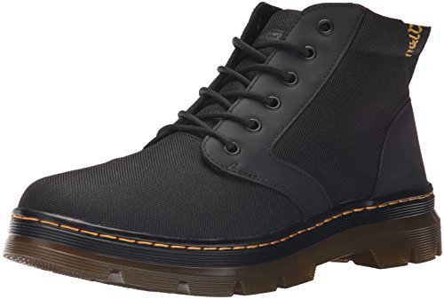 Dr. Martens Bonny Chukka Boot, Black Extra Tough Poly+Rubbery, Womens 12/Mens 11