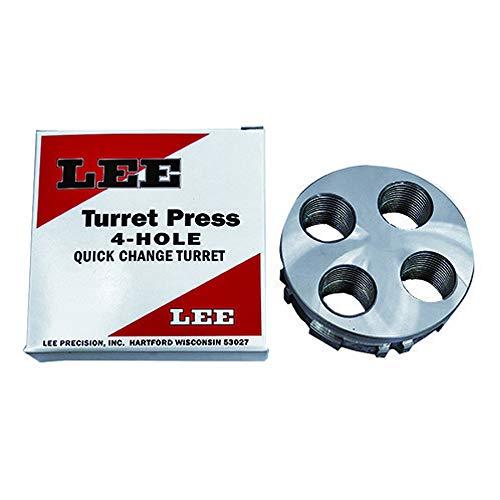 Lee Precision 90269 Classic 4 Hole Turret Press Turret,Black