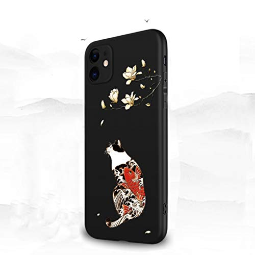 Carcasa para iPhone 12 11 Pro Max 7 8 6S 6 S Plus funda bonita 3D Wave Cover para iPhone Se 2020 X Xr Xs Max 5 S 5S Apple Phone Case