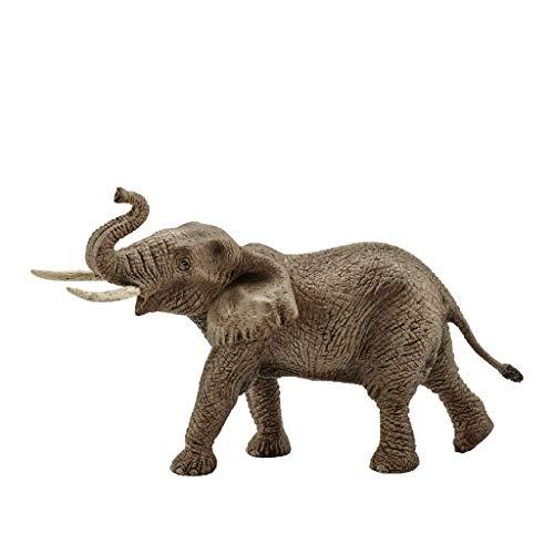 Schleich Schleich-14762 Elefante Africano Macho, Color (14762)