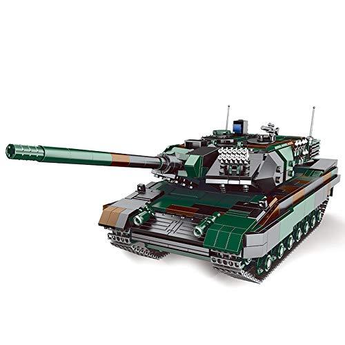 XINGBAO 06040 New Military Building Blocks WW2 Toys 1346pcs Leopard-2A6 Main Battle Tank Building Blocks Bricks Boy Toys Adult Toys for Men