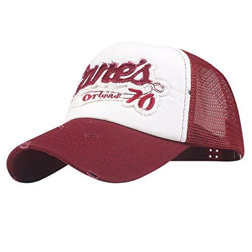 Cocoty-Store,2019 Gorra de para Caza Quick Dry Sports Hat Lightweight Breathable Soft Outdoor Run Cap Pesca o Actividades al Aire Libre, Blanco