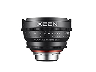 Rokinon Xeen XN14-NEX 14mm T1.5 Professional Cine Lens for Sony E Mount Interchangeable Lens Cameras (Black) (B01BMESI0G) | Amazon price tracker / tracking, Amazon price history charts, Amazon price watches, Amazon price drop alerts