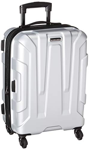 Samsonite Centric Hardside Luggage, Silver, Carry-On