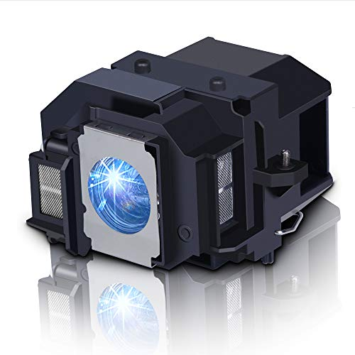 Huaute V13H010L54 / ELPLP54 Reemplace la lámpara del proyector para EPSON EB-S7 EB-S72 EB-S8 EB-S82 EB-W7 EB-W8 EB-X7 EB-X72 EB-X8 EB-X8e EH-TW450 EX31 EX51 H309A H310C H311B H311A H312C H327A H328B