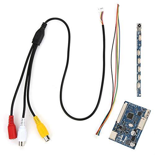 800 X 480 Placa de controlador único Módulo controlador de placa de controlador AV para timbre de video, hogar inteligente, industria de monitoreo de máquina pos para pantalla LCD de