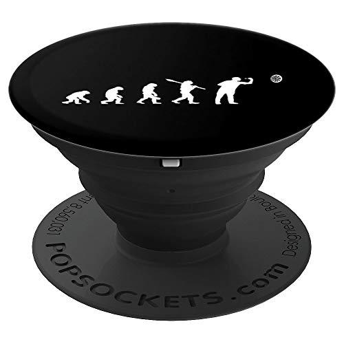 Darts Evolution Dartscheibe cooles Dartspieler Geschenk - PopSockets Ausziehbarer Sockel und Griff für Smartphones und Tablets