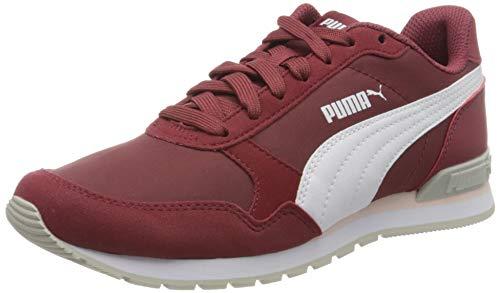 PUMA Unisex St Runner V2 Nl Sneaker, Burnt Russet White Silver Cloud, 44 EU