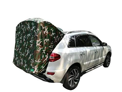 Reisen mit dem Auto Outdoor Camping Auto Zelt für Koleos Ultraleichtes tragbares Auto Heck Markise/Pergola/Dachzelt - Autoausrüstung für Koleo