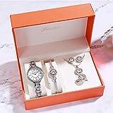 PIANAI Regalos del día de la Madre/Relojes para Mujer/Pulseras, Collares, Anillos/Relojes para Mujer/Relojes para Mujer/Relojes para Mujer,D