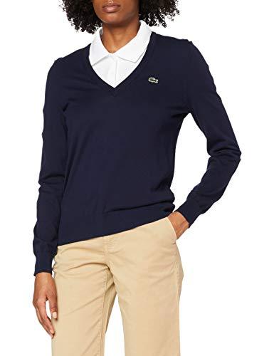 Lacoste Damen AF1323 Pullover, 166, 34