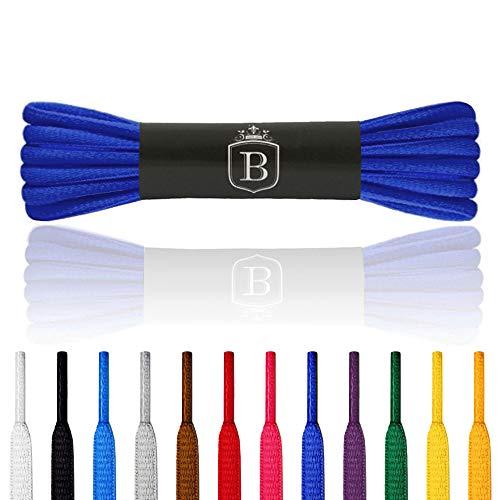 Brandery Laces(140x6, mid Blue)
