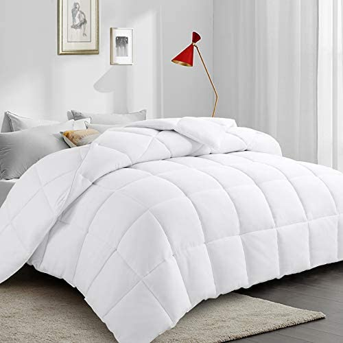 PARKOL All Season Queen Down Alternative Quilted Comforter Ultra Soft Duvet Insert with Corner product image