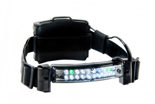 "FoxFury 420-006 Command 20 LED Firefighter Helmet Light with 1"" Silicone Strap, 72 Lumens"