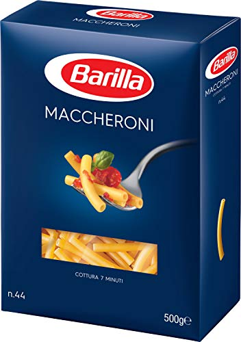 Barilla Hartweizen Pasta Maccheroni n. 44 – 8er Pack (8x500g) - 2