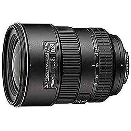 Nikon 17-55mm f/2.8G ED-IF AF-S DX Nikkor Zoom Lens: NIKON