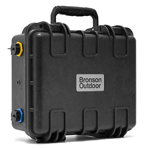 Bronson Outdoor MB 100 14,4V NMC Lithium-Ionen Batterie Akku 100Ah wasserdicht für 12V Bootsmotoren