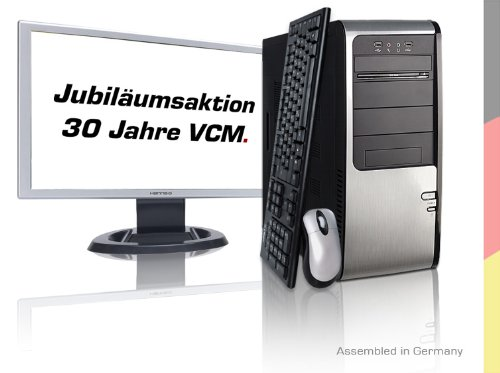 VCM tánatos 1 55,9 cm Desktop-PC(AMD Phenom II X4 945 3 GHz, 4 GB RAM, 1000 GB HDD, ATI HD4870 1024MB, DVD)