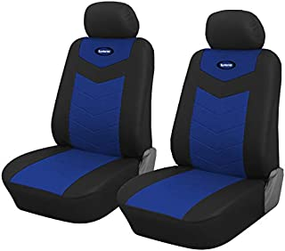 Pair of Front Set Car Seat Covers for Mitsubishi Outlander Sport 2011-2019 (Blue)