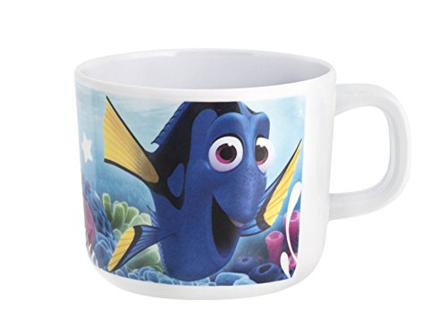 Home Disney Dory Tazza, 220 ml, Melamina, Azzurro/Multicolore, 1x1x1 cm