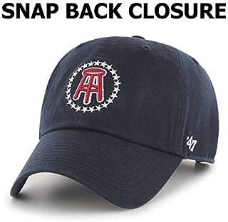 Stool Stars '47 Brand Logo Hat, Snapback Closure Baseball Cap, Adjustable Strap, Navy