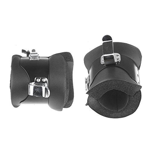 Vinteky Anti-Schwerkraft-Stiefel für Training, Steel Gravity Boots, Inversionsgerät mit Sicherheitsverschluss, Schwerkrafttrainer, Farbe Schwarz