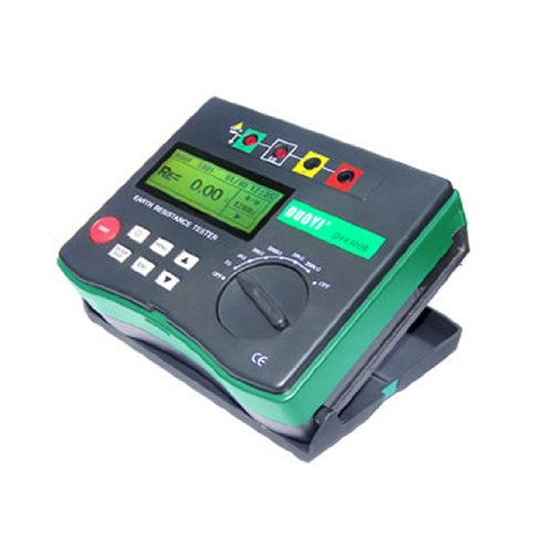DUOYI DY4300 4-Terminal Earth Ground Resistance Tester and Soil Resistivity Tester Multimeter Tester Electrical Instrument by Yi Duo