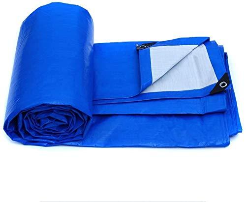 Telas para toldos LQ Tela de plástico Encerado Lluvia Poncho de Tela Camión Lona Lienzo Parasol Protector Solar al Aire Libre Aislamiento (Size : 4m*3m)