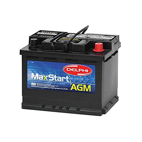 Delphi BU9047 MaxStart AGM Premium Automotive Battery, Group Size 47