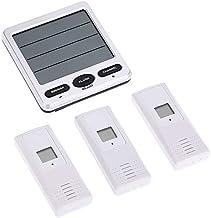 Fauge TermóMetros e HigróMetros para Clima Ambiental TermóMetros de Alta PrecisióN para Interiores y Exteriores con Tres Sensores Remotos