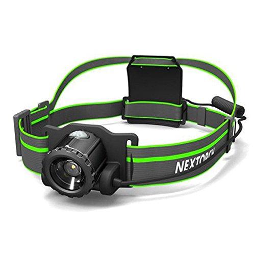 NEXTORCH myStar2 360 graden Draai verstelbare Focus, USB directe recharble koplamp hoofd Lamp 550 lumen met Exclusieve Eenvoudige Engels Gebruikershandleiding.